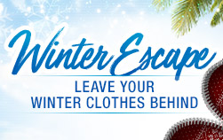 Leave your Winter Clothes Behind
