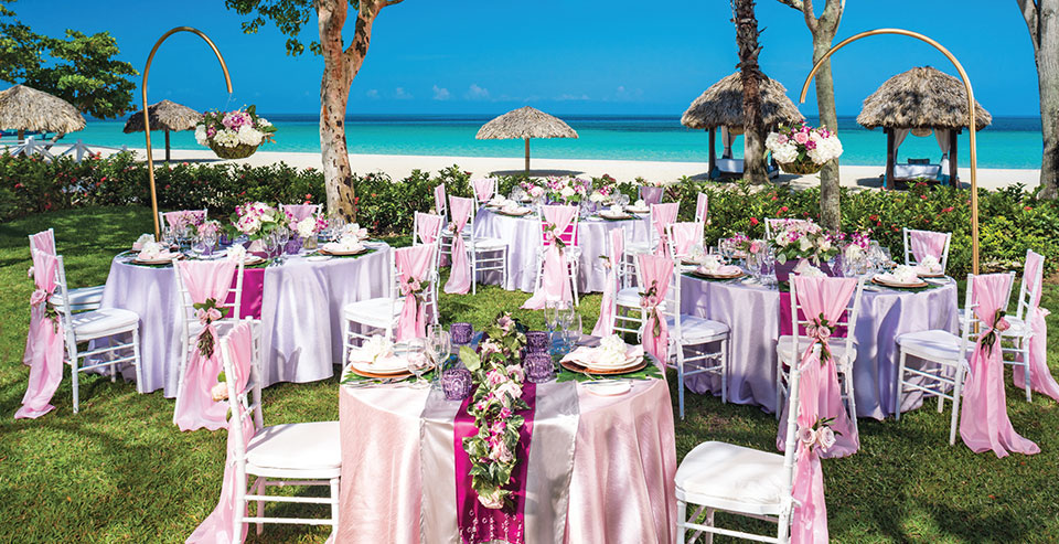 Night Beach Wedding Reception Elegant Caribbean Island: All-inclusive Caribbean Holidays For