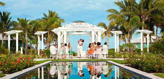 Destination wedding packages in the caribbean sandals for Best place for beach wedding