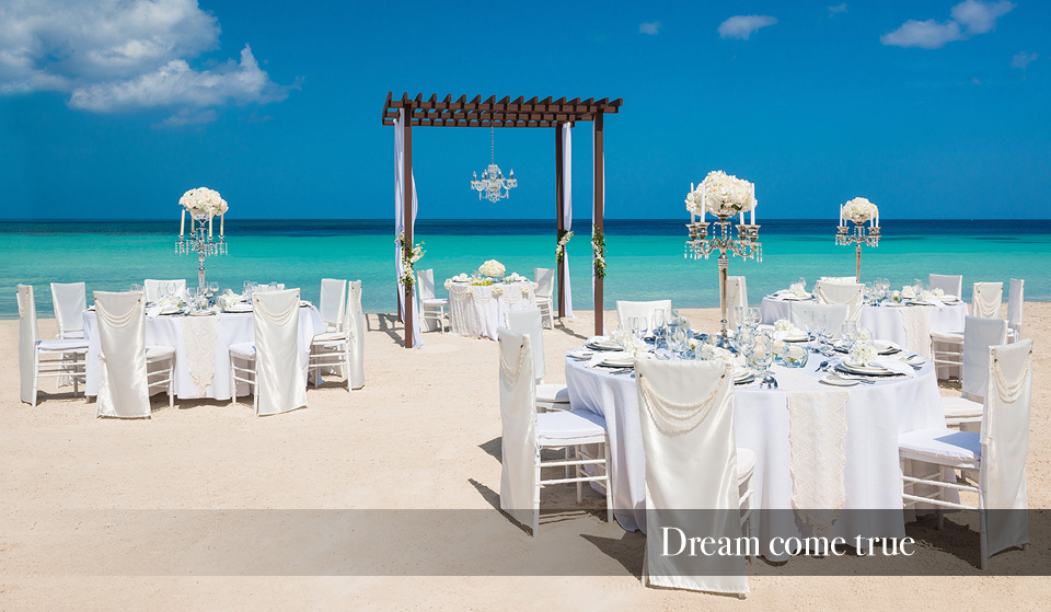 All inclusive caribbean destination wedding packages sandals for All inclusive wedding packages
