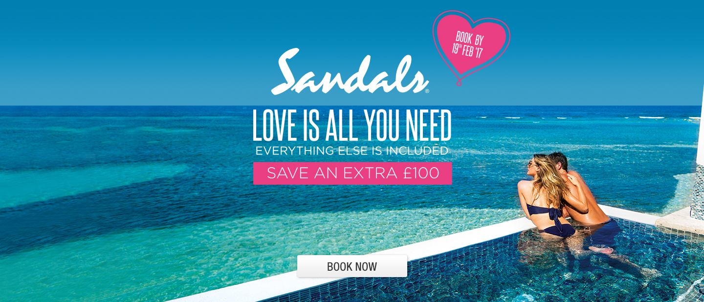 All Inclusive Resorts Amp Holiday Packages Sandals Resorts