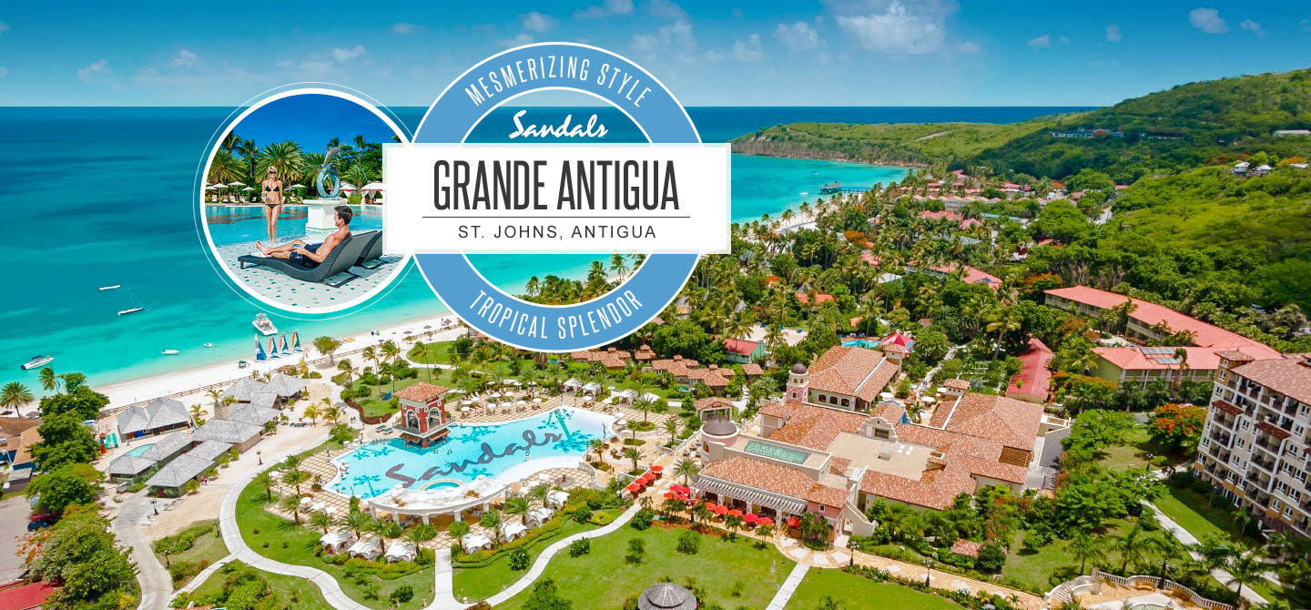 Sandals Grande Antigua Luxury Resort In St Johns Sandals