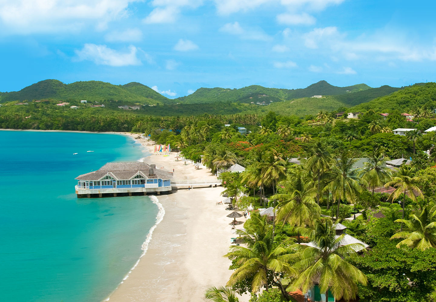 Halcyon Beach All Inclusive St Lucian Resort Vacation