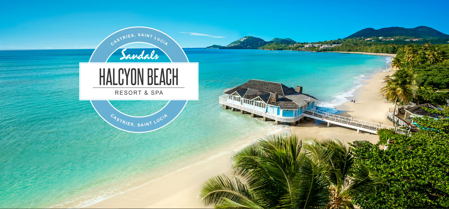 Sandals Halcyon Beach Luxury Resort In Castries St Lucia
