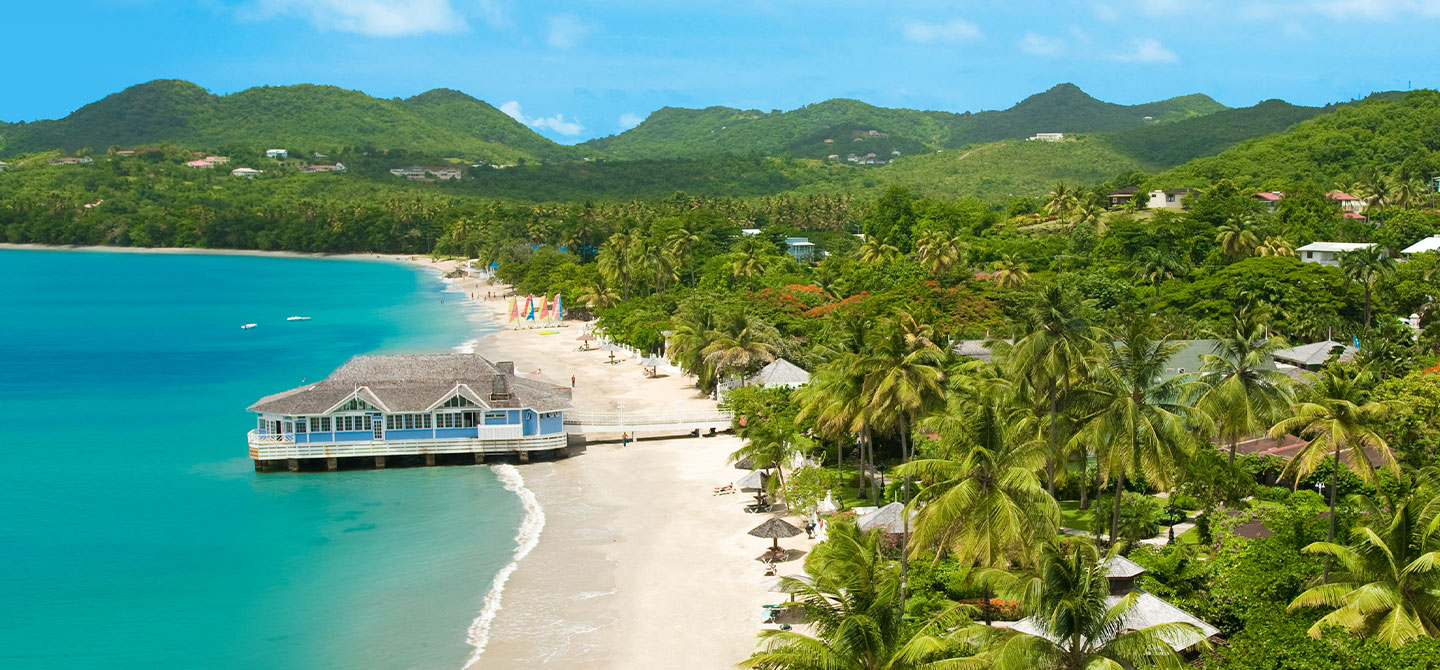 Sandals Halcyon Beach Luxury Resort in Castries, St. Lucia | Sandals