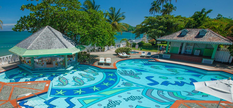 Sandals Halcyon Beach Luxury Resort in Castries, St. Lucia   Sandals