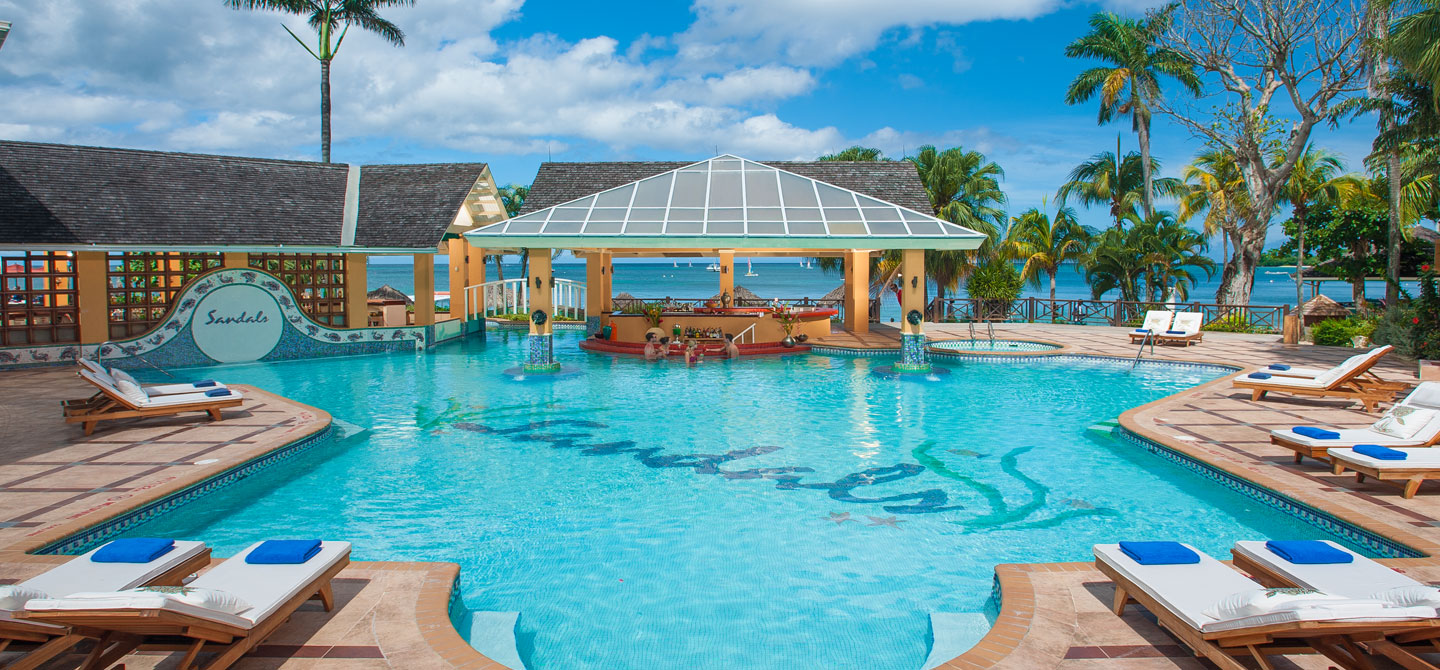 Sandals Negril Luxury Resort In Jamaica