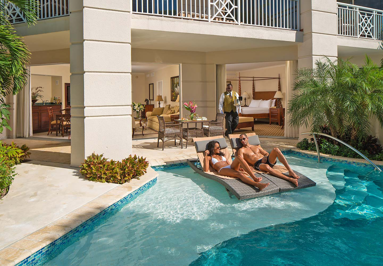 Sandals resort hotel