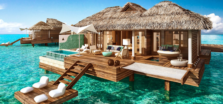 Luxury caribbean resorts warm water vacation
