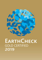 Earth check gold certified