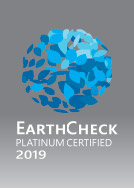 Earth check platinum certified