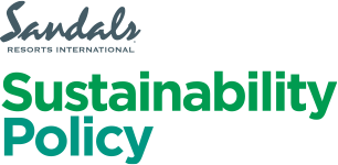 Sandals Resorts sustainability policy