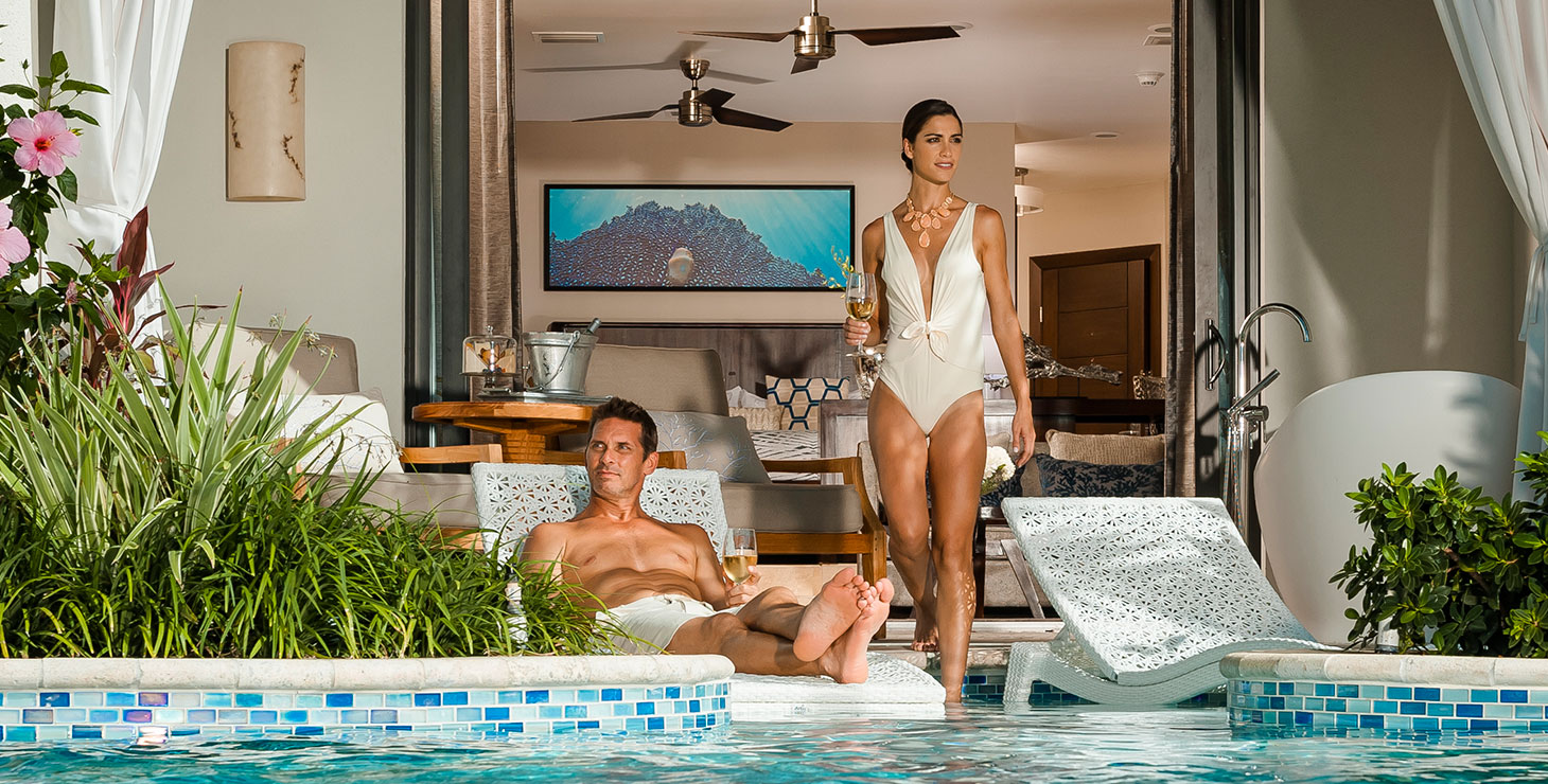 Sandals Grande St Lucian Spa and Beach Resort - Luxury
