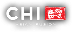 Chi asian fusion restaurant logo