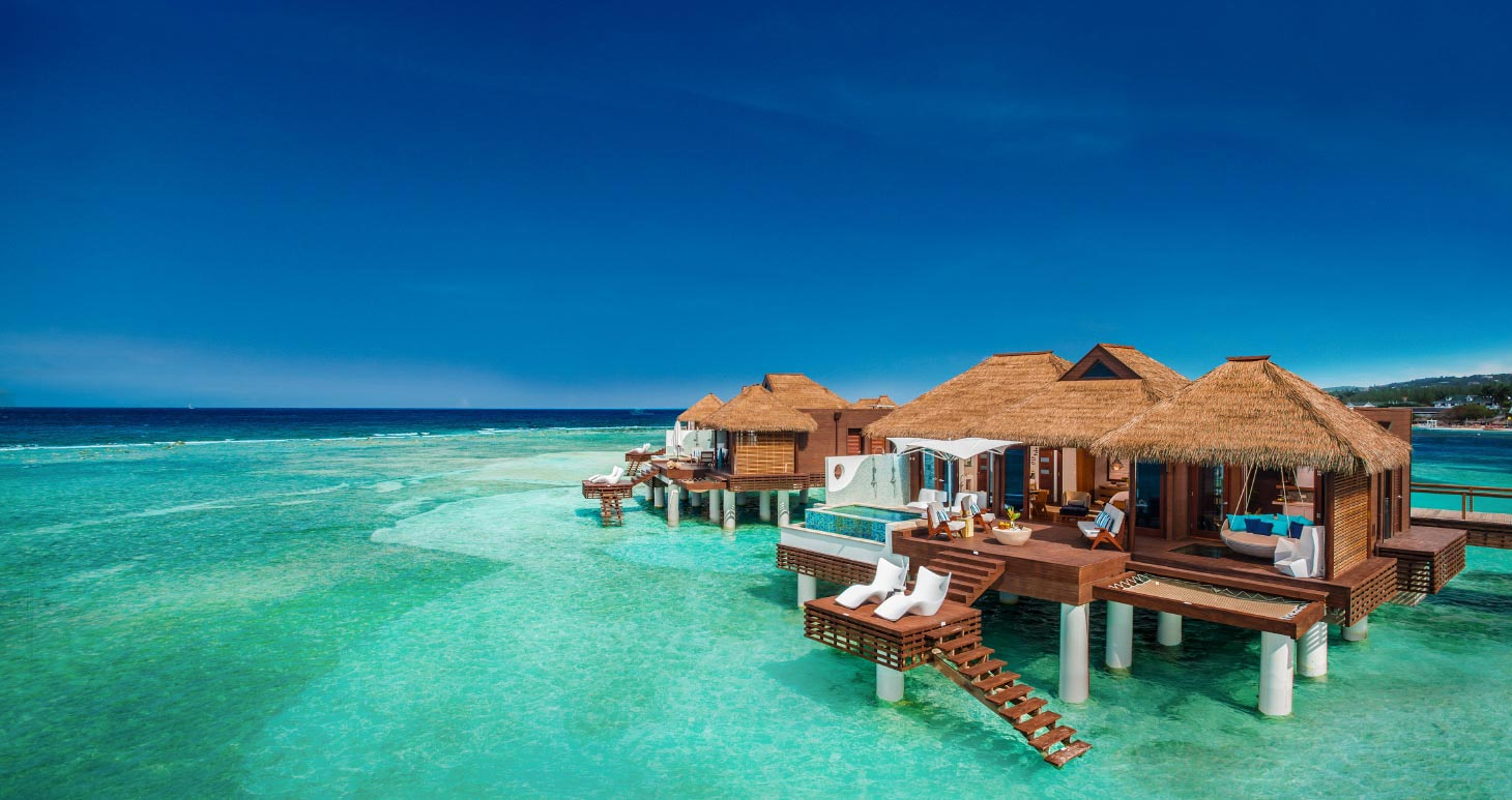 All Inclusive Overwater Villas In The Caribbean Sandals