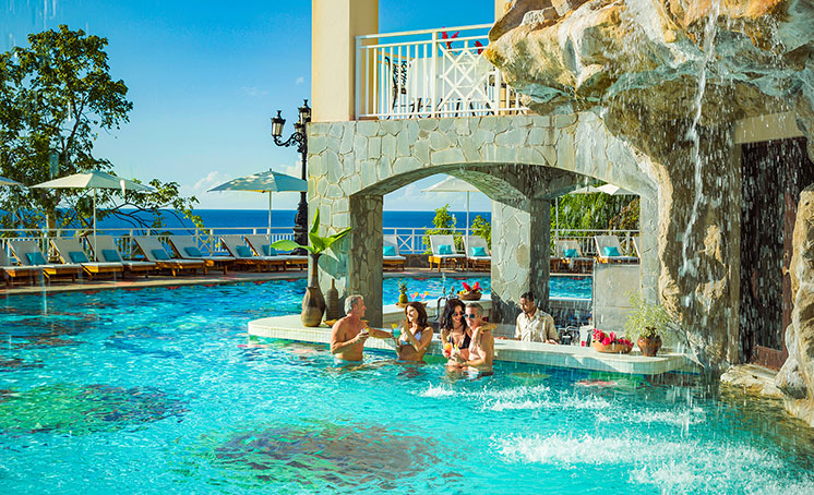 Signature Pools at Sandals Luxury-Included Resorts
