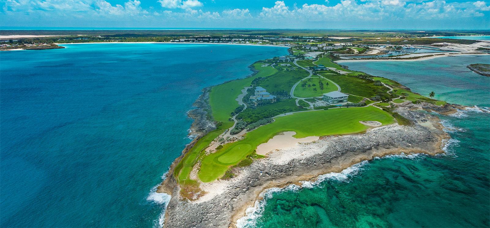 9ebca51f1 golf in Bahamas. Sandals Emerald Bay Golf Course