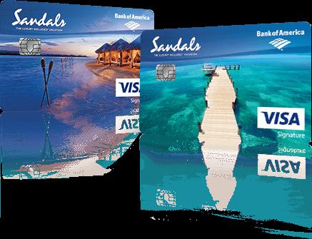 Sandals Credit Card | Sandals