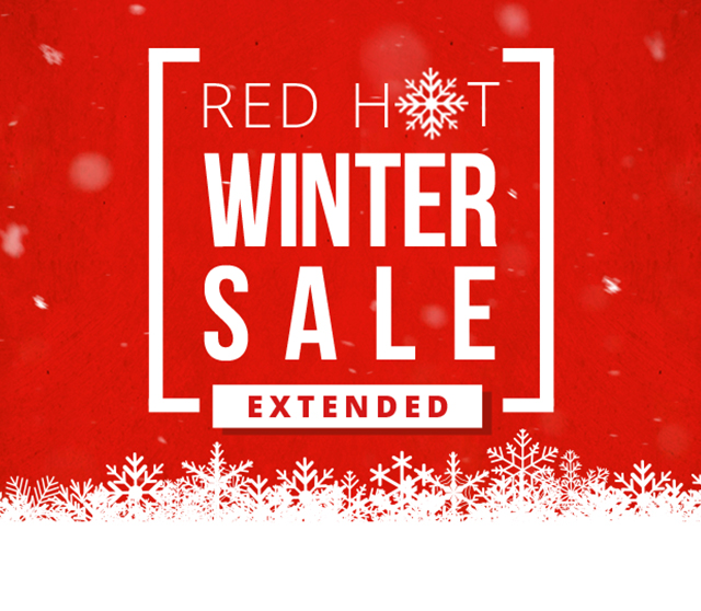 Red Hot Winter Sale Extended