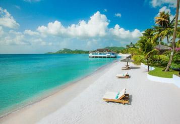 Sandals Halcyon Beach Castries Saint Lucia