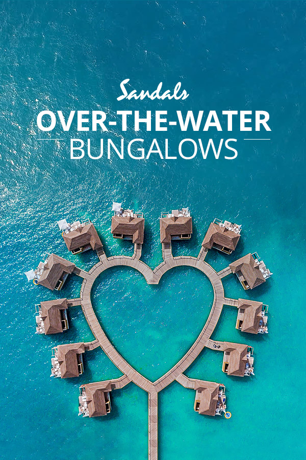 Overwater Bungalows Amp Villas In The Caribbean Sandals
