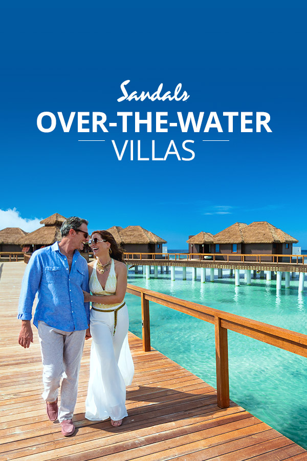 4202d14c32dae4 All-Inclusive Over the Water Villas   Suites in the Caribbean