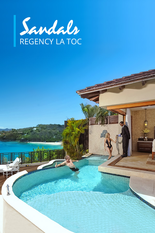 Sandals Regency La Toc Luxury Resort In Castries St Lucia Sandals