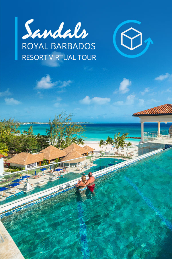 Virtual Tours Sandals Royal Barbados Resort