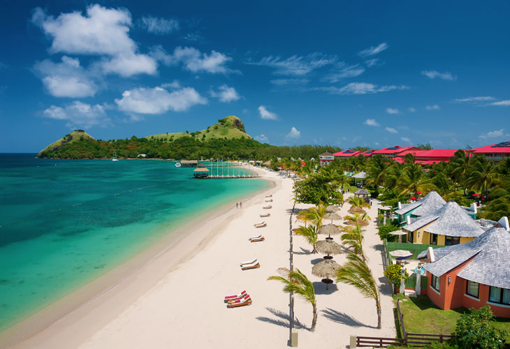 Sandals Grande St Lucian Beach