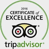TripAdvisor Excellence Certificate 2016