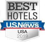 US News Best Hotels Award 2019