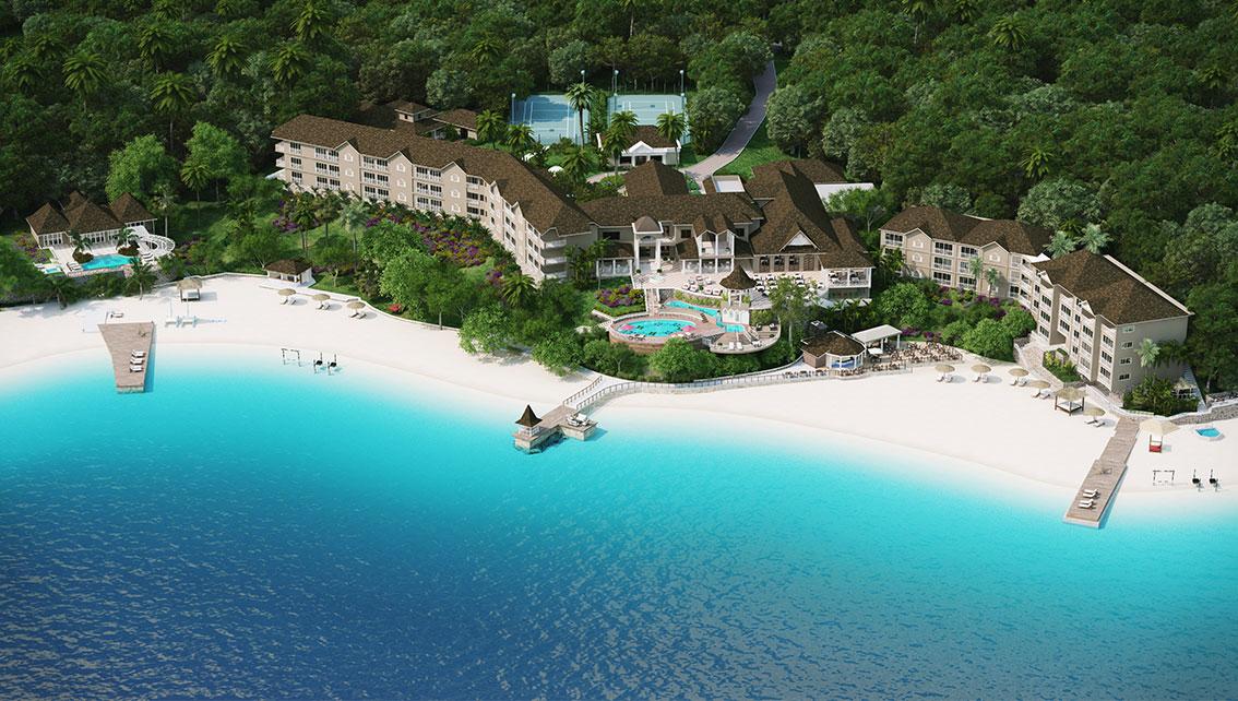 Maps Sandals Royal Plantation Resort In Jamaica