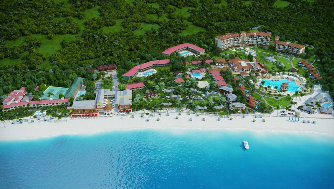 Maps Sandals Grande Antigua Resort In St Johns