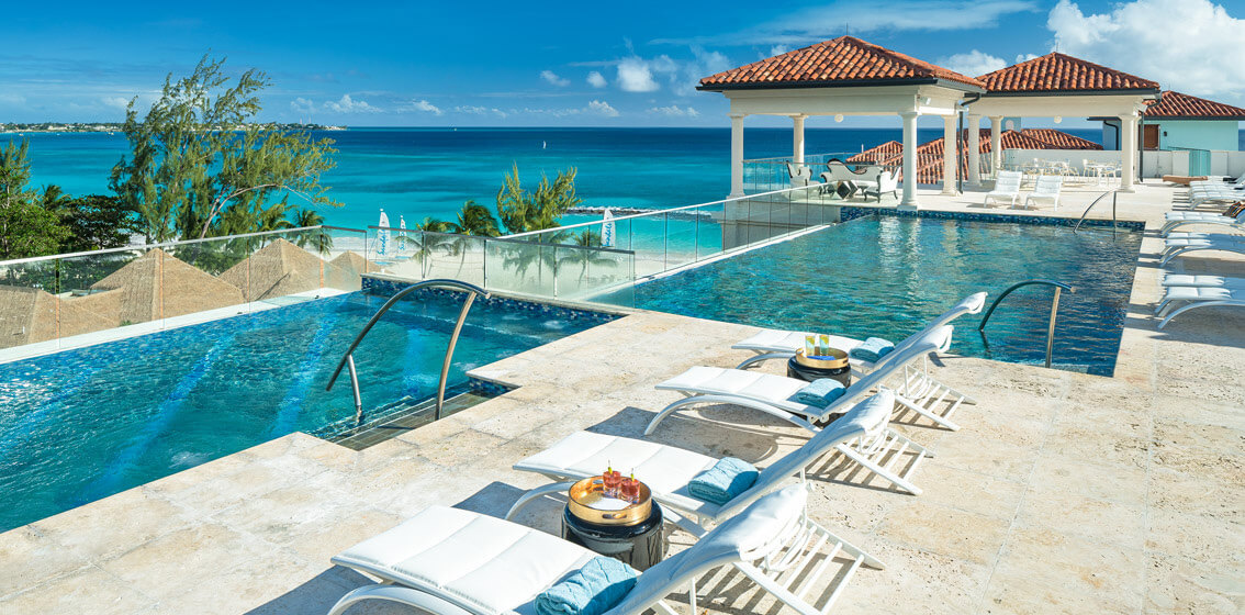 0ac4e86c2cad8 Only at Sandals Royal Barbados. Rooftop Pool Complete With Restaurant   Bar