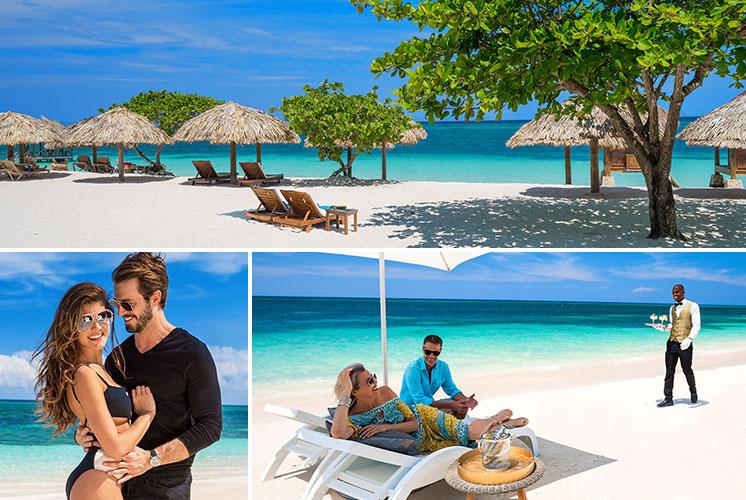 sandals montego bay jamaica private beachfront villas. Black Bedroom Furniture Sets. Home Design Ideas