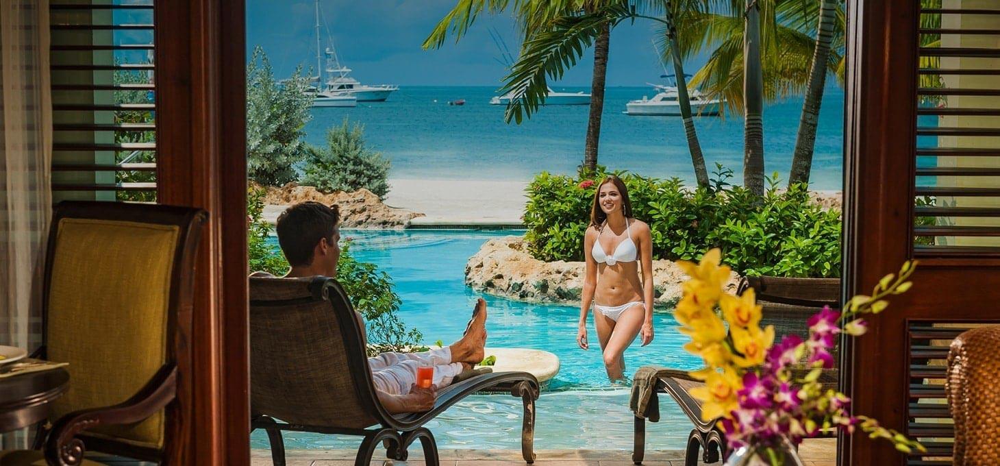 Swim Up Lagoon Suites at Sandals Negril in Jamaica   Sandals