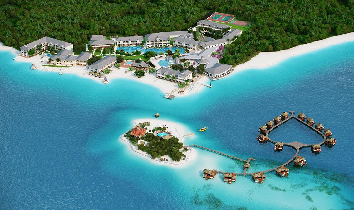 Maps - Sandals Royal Caribbean Resort in Jamaica