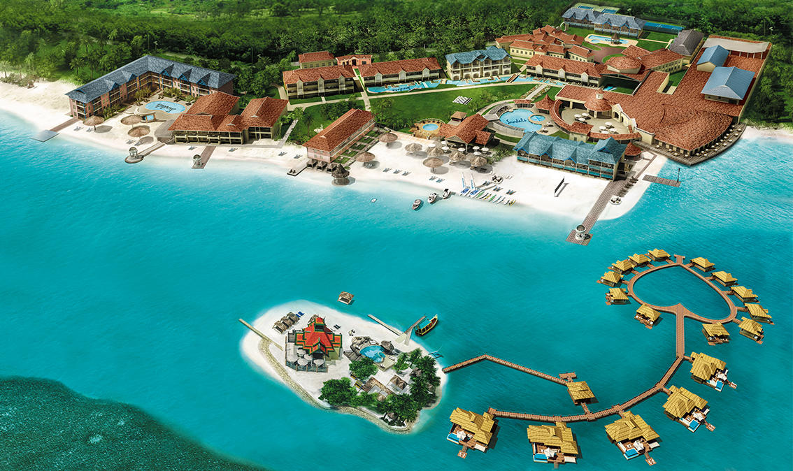 Sandals Royal Caribbean Resort Map Maps   Sandals Royal Caribbean Resort in Jamaica