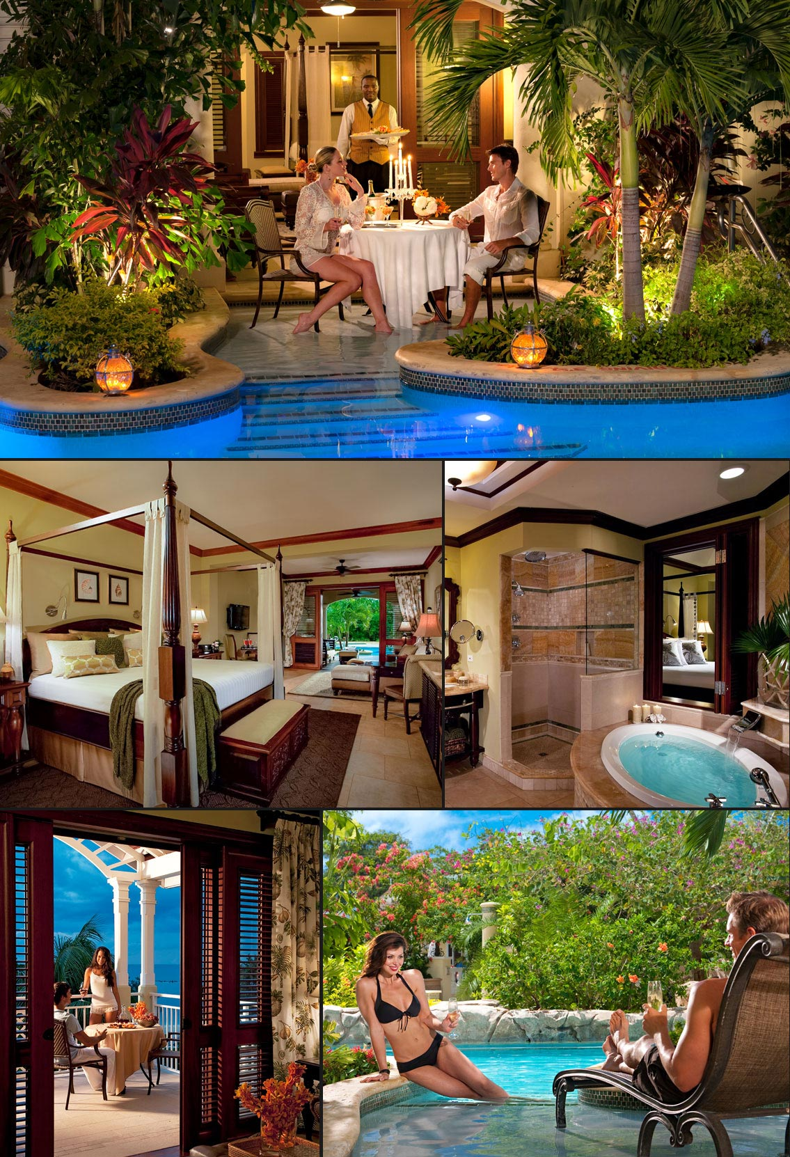 Swim Up Lagoon Suites At Sandals Royal Caribbean