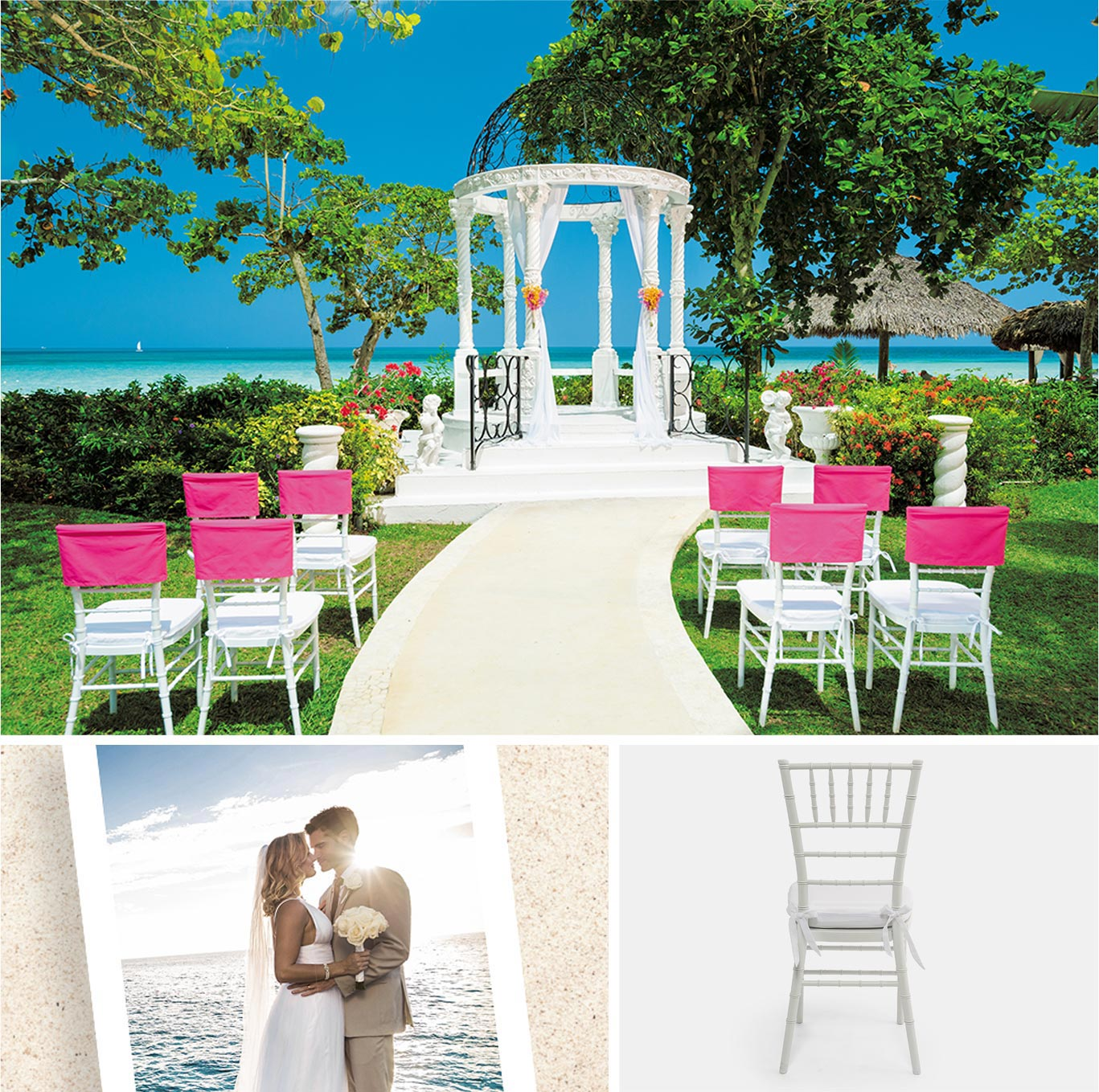 Get a free caribbean wedding with a 3 night stay at sandals ceremony junglespirit Image collections
