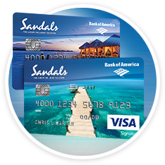 Sandals & Beaches Visa Signature® Card